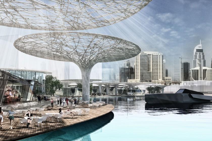 D3 dubai design district ta tabanl o lu architects for Hotel dubai design district